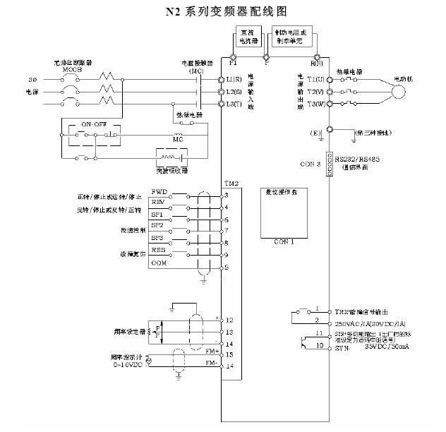 台安n2-202变频器说明书