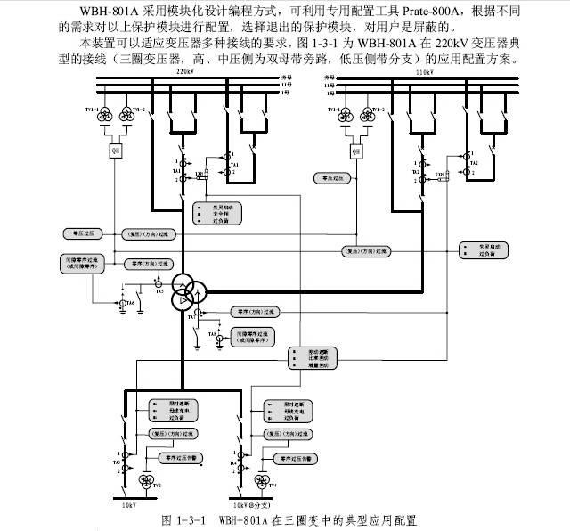许继wbh-801a微机变压器保护装置技术说明书