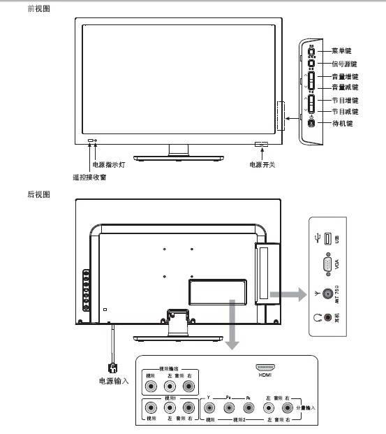海信led23k310j液晶彩电使用说明书