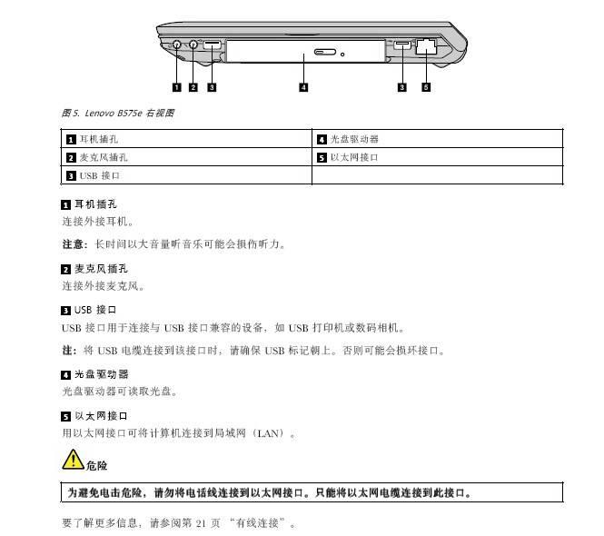 联想b575e笔记本电脑使用说明书