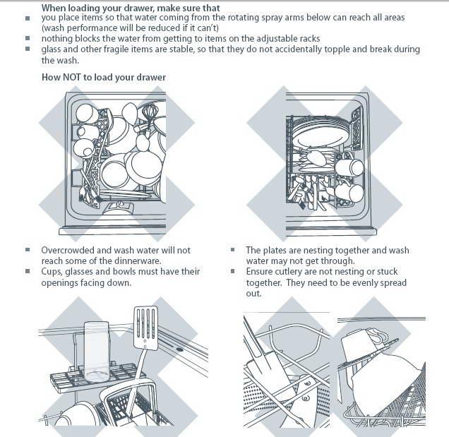斐雪派克DD90STI2洗碗机说明书
