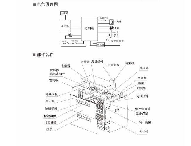 帅康ZTD110-05B2消毒柜说明书