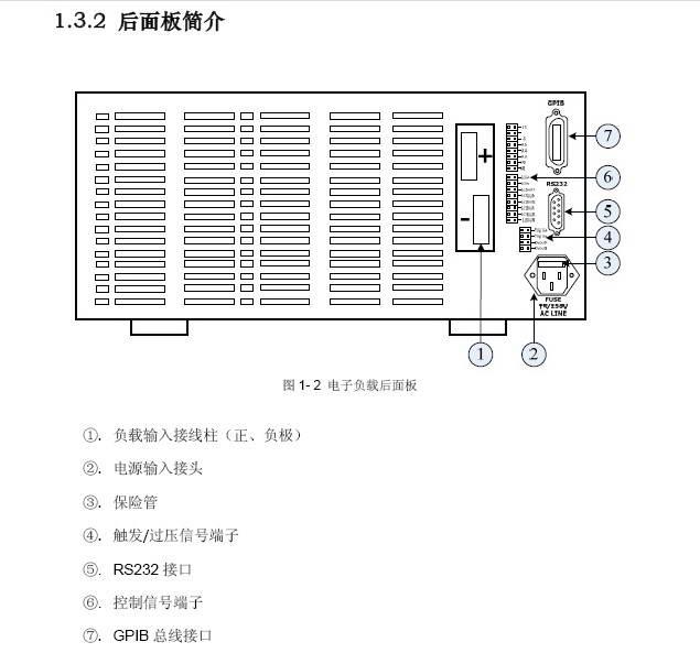 费思FT6804A大功率可编程直流电子负载使用手册