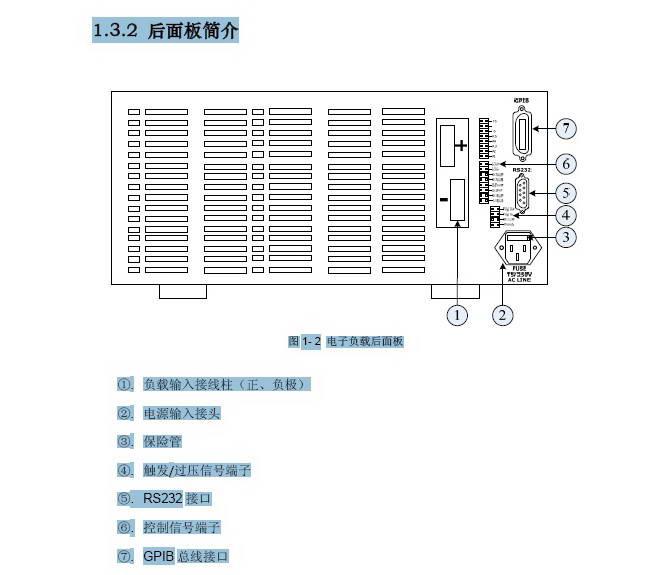 费思FT6803A大功率可编程直流电子负载使用手册