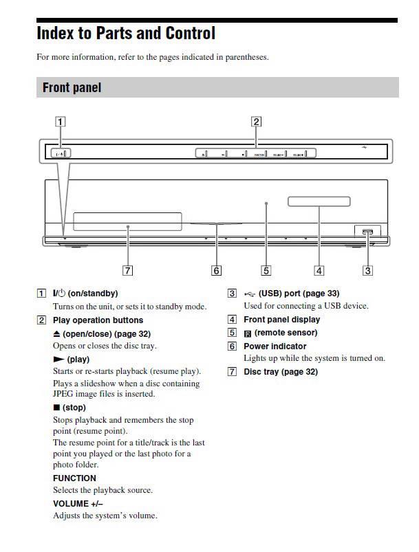索尼BDV-E370蓝光家庭影院用户手册