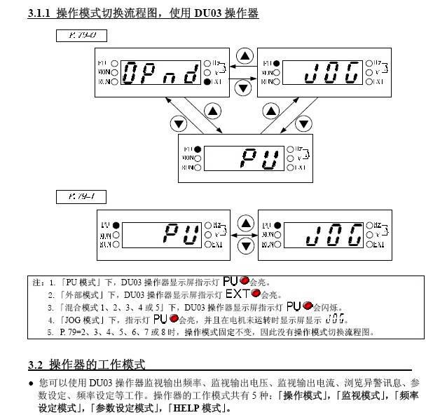 士林SE021-0.2K变频器说明书