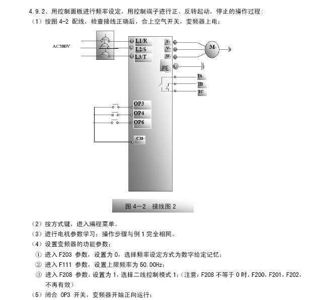南大傲拓IVT100G-0055T3变频器说明书