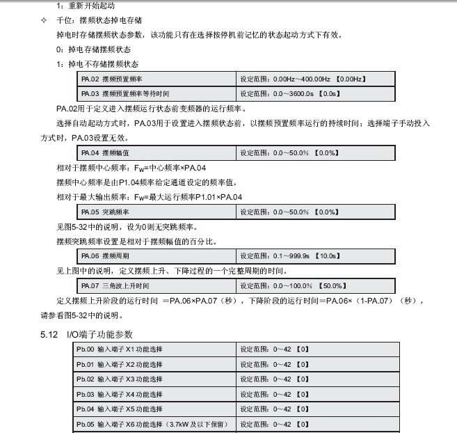 微能WIN-V63-7R5T4矢量变频器使用说明书