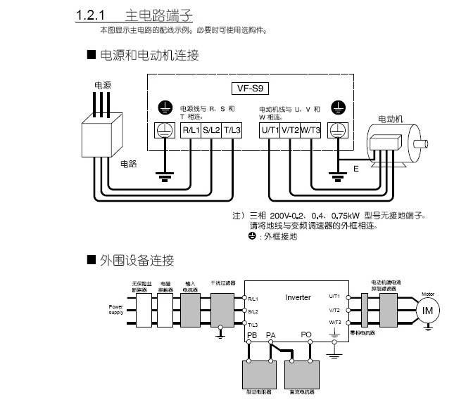 东芝VFS9-4015PL变频器使用说明书