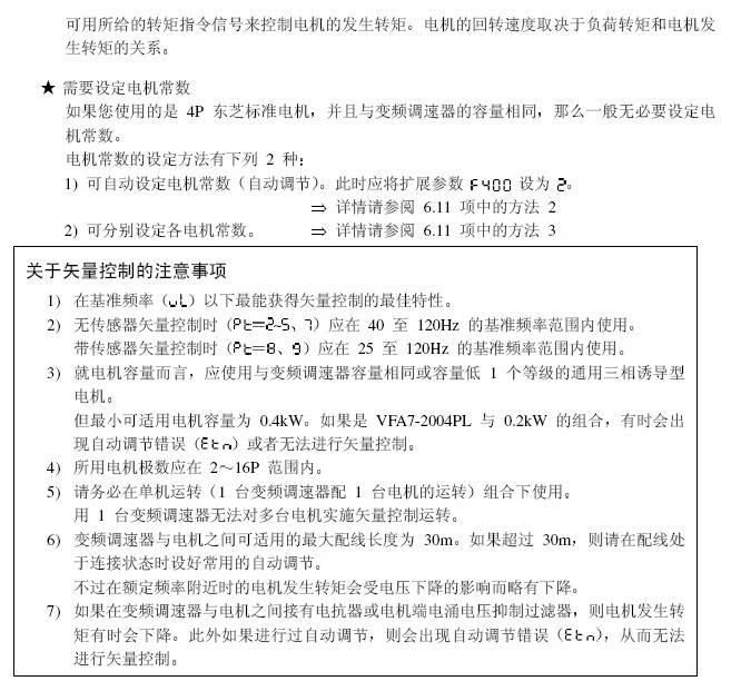 东芝VFA7-4450P1变频器使用说明书