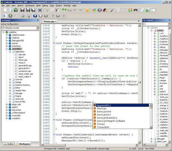 CodeLite For Linux(64bit)