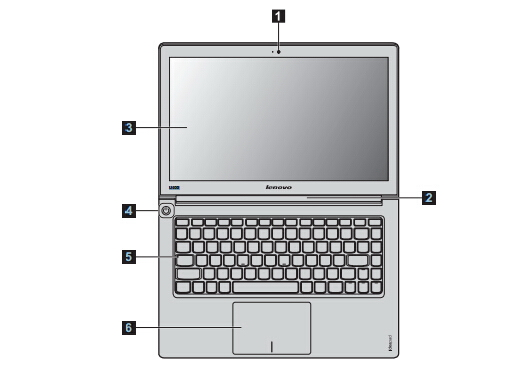 lenovo联想u400笔记本电脑说明书