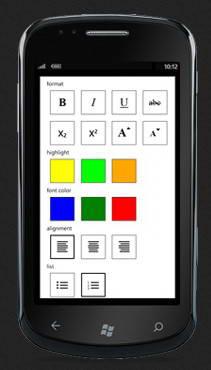 ComponentOne Studio For Windows Phone