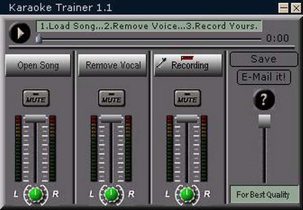 Karaoke Trainer