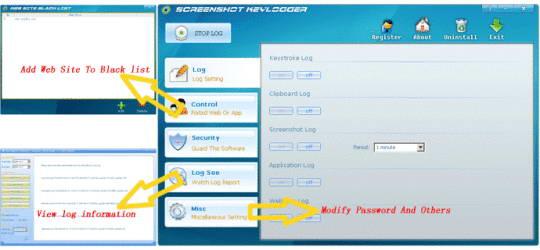 Screenshot Keylogger
