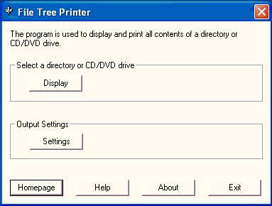 File Tree Printer