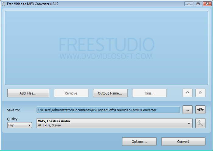 dvdvideosoft Free Video to Mp3 Converter