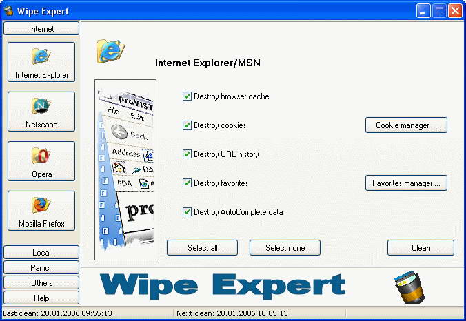 Wipe Expert
