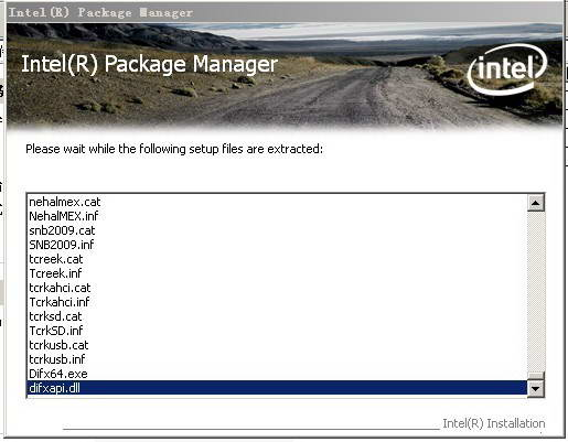 Intel Chipset Software Installation Utility