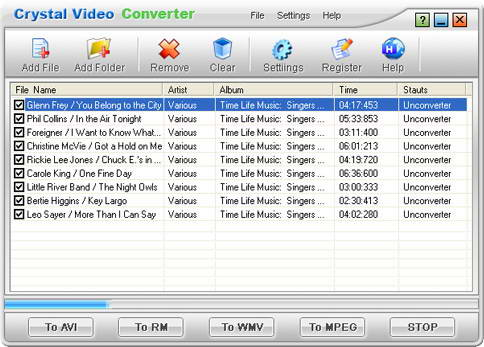 Crystal Video Converter