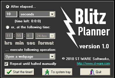 Blitz Planner