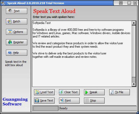 Speak Aloud
