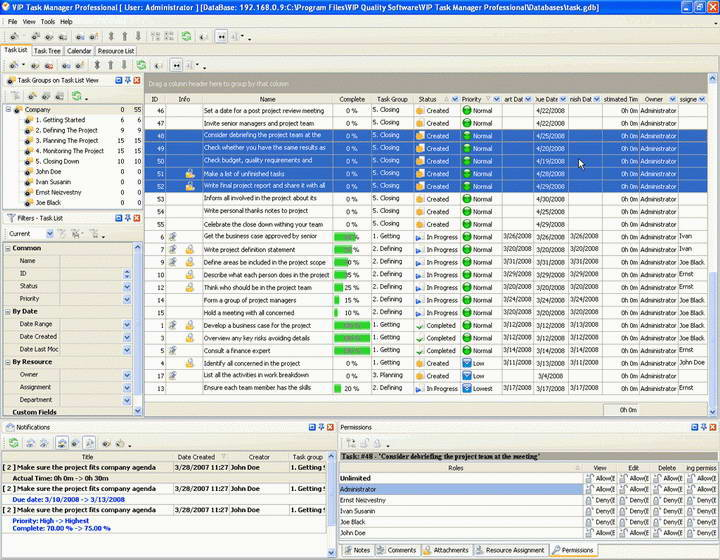 VIP Task Manager Standard Edition