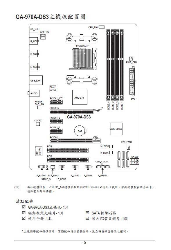 技嘉GA-970A-DS3主板使用手册
