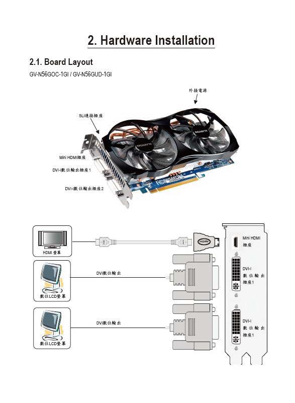 技嘉GV-N56GUD-1GI显卡使用手册