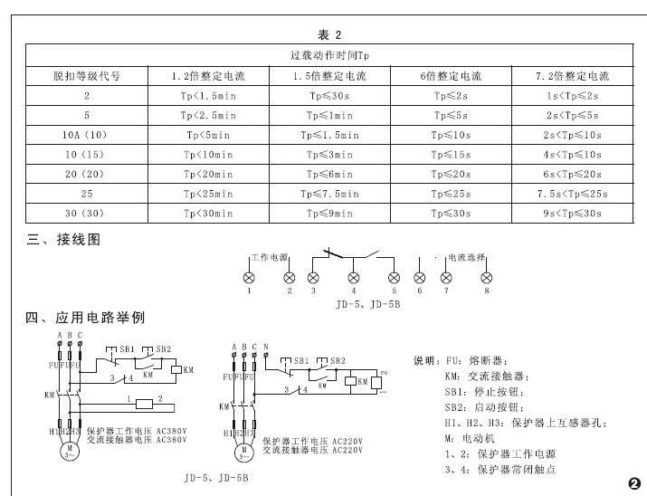 欣灵HHD1D-F数字设定电动机保护器说明书