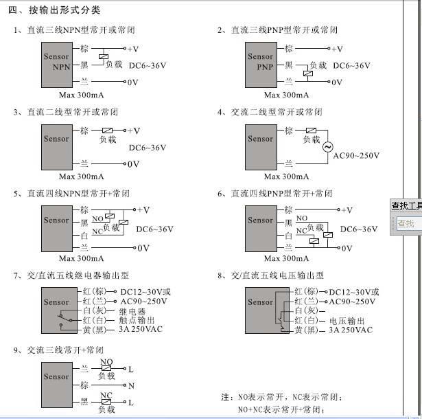 欣灵TL-W5M角柱型电感式接近开关说明书