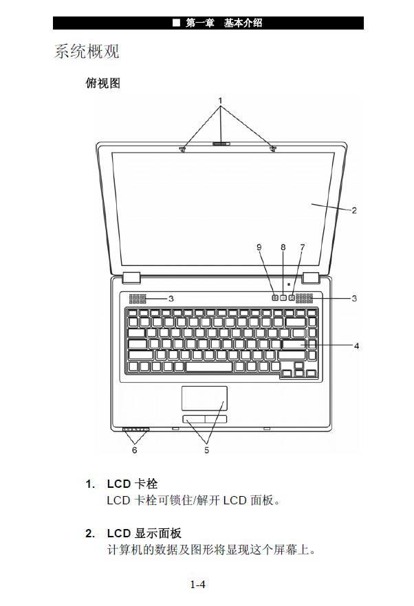神舟电脑商禧N510型说明书