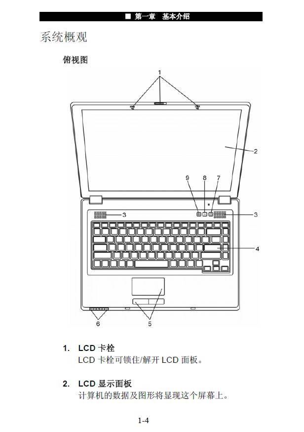 神舟电脑商禧N530型说明书