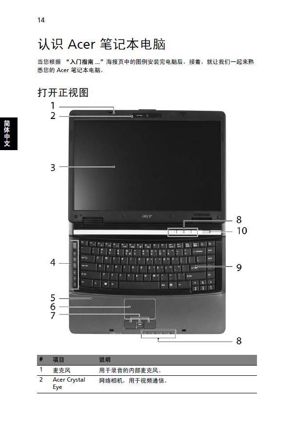 宏碁Extensa 5620笔记本电脑使用说明书
