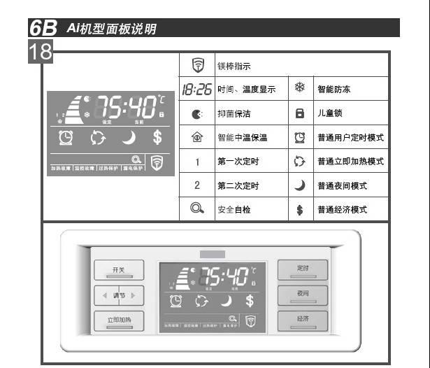 阿里斯顿AH70H2.5Ai3电热水器使用说明书