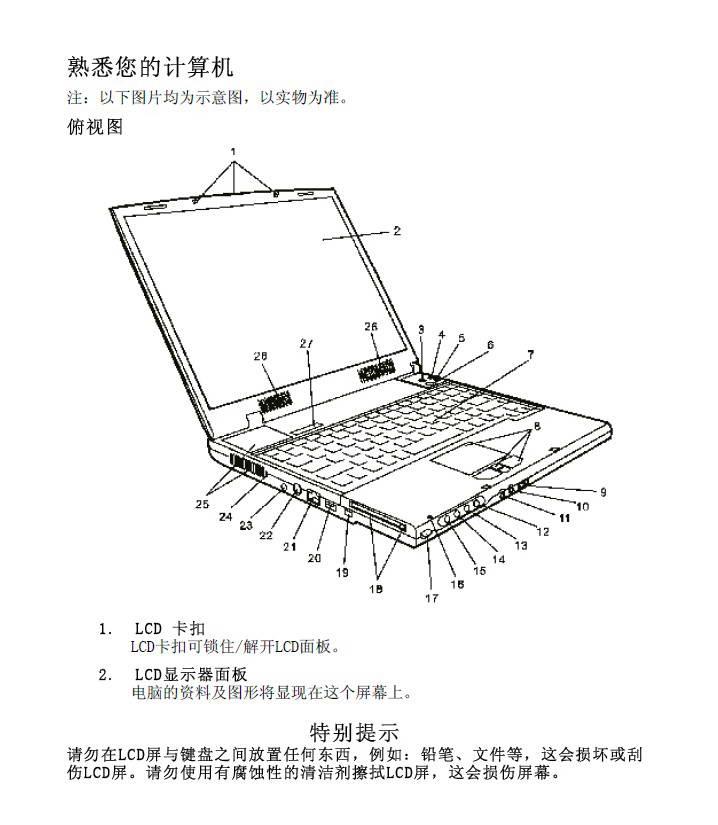 方正颐和T3300笔记本电脑使用说明书