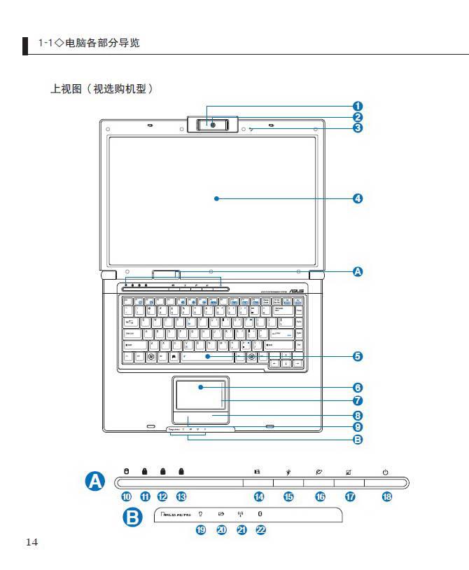 华硕F5C笔记本电脑使用说明书