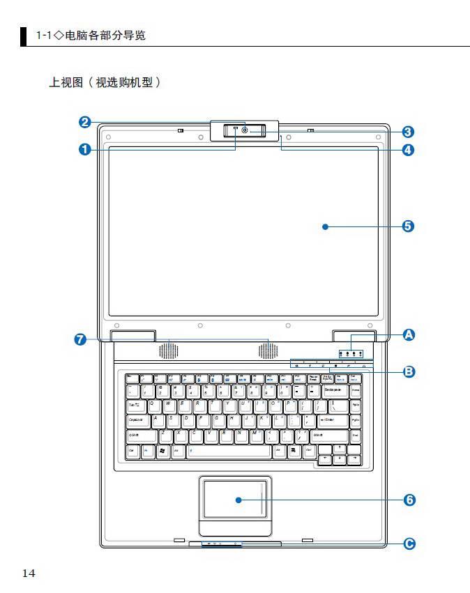 华硕F3U笔记本电脑使用说明书