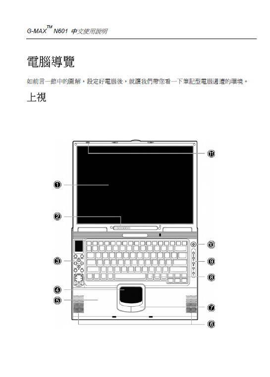 技嘉笔记本电脑N60型说明书
