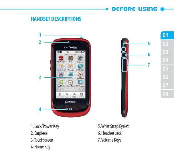 泛泰Hotshot移动电话使用说明书