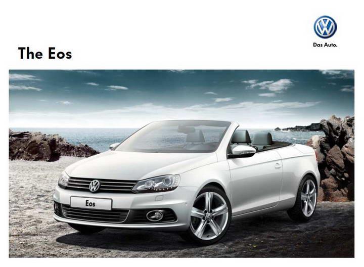 大众Eos 汽车产品手册