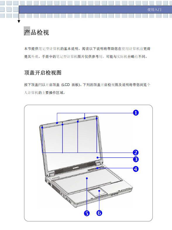 微星VR321笔记本电脑使用说明书