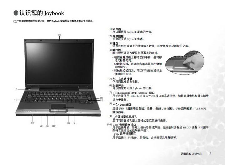 明基A33E笔记本电脑使用说明书