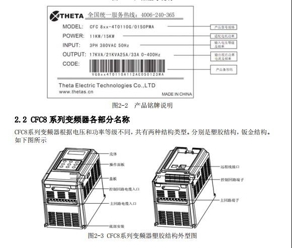 西驰CFC8-4T1600变频器使用说明书