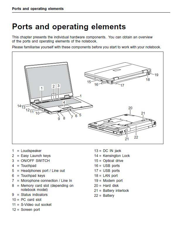 富士通amilo 3545笔记本电脑使用说明书