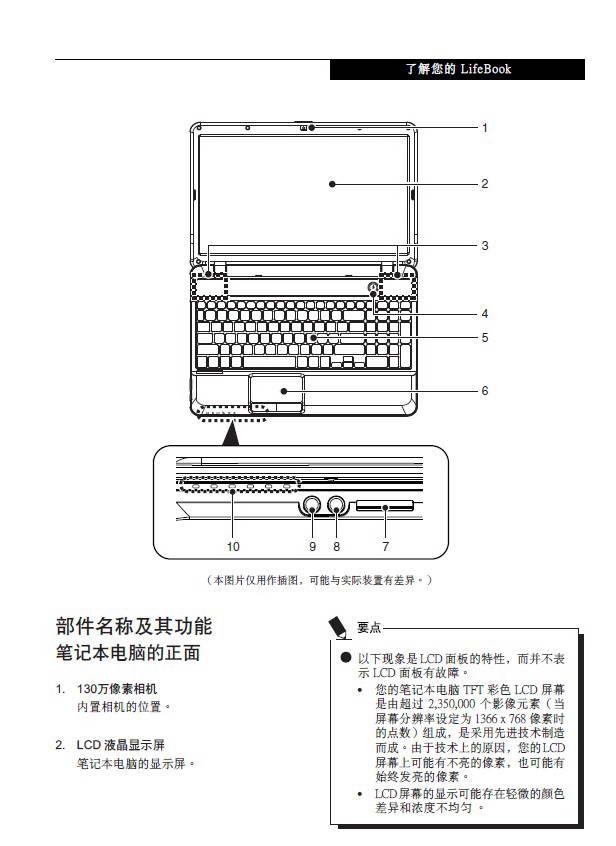 富士通A531笔记本电脑使用说明书