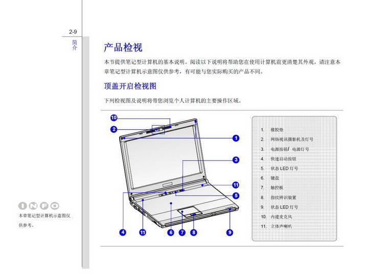 微星MSI PX211笔记本电脑使用说明书
