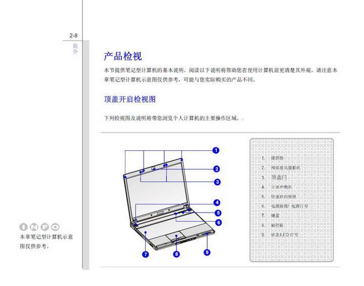 微星MSI VR602笔记本电脑使用说明书