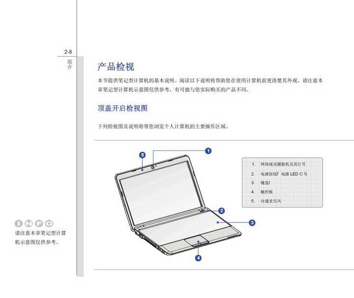 微星MSI Wind12 U200笔记本电脑使用说明书