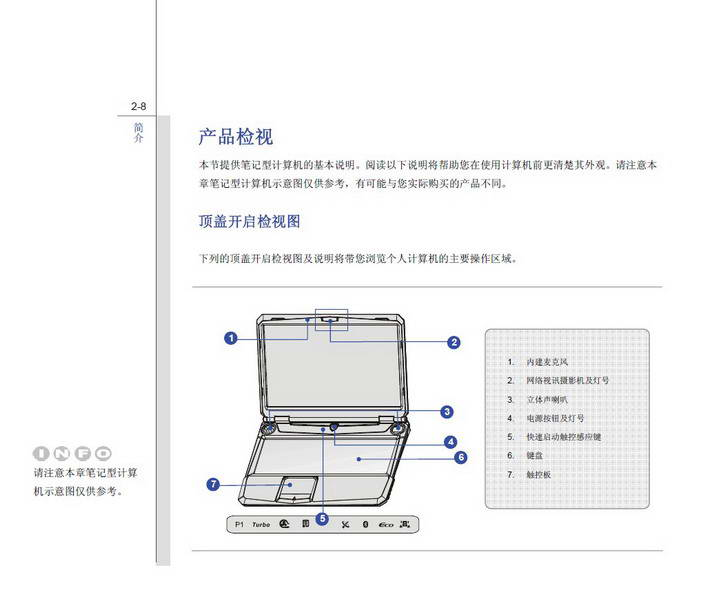 微星MSI GT663笔记本电脑使用说明书